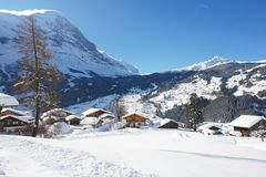 Grindelwald, Switzerland Royalty Free Stock Images