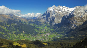 Grindelwald Valley Royalty Free Stock Images