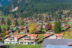 Grindelwald Village Royalty Free Stock Photos