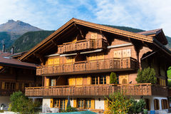 Grindelwald Village Royalty Free Stock Photo