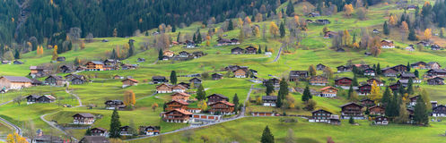 Grindelwald Village Stock Photography