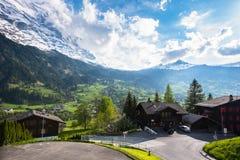 Grindelwald - Zwitserland Stock Foto