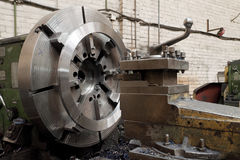 Grinder. Metal industrial machines and tools Stock Images