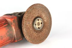 Grinder. A grinding machine is a machine tool used for grinding Royalty Free Stock Images