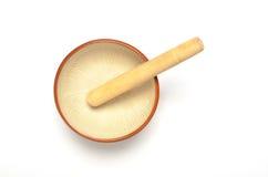 Grinder bowl Royalty Free Stock Images