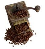 grinder för kaffe 6 Arkivfoto