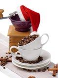grinder för kaffekopp Royaltyfria Bilder