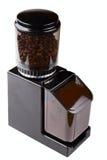 grinder för svart kaffe Royaltyfria Bilder