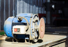 Grinder machine with cutting wheel Royalty Free Stock Photo