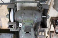 Grinder machine. For sharping metals Stock Photos