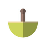 Grinder spa isolated icon. Vector illustration design Stock Photo