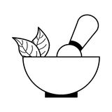 Grinder spa product icon Royalty Free Stock Photo