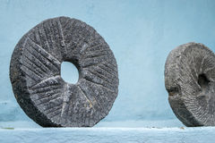 Grinder Stone Royalty Free Stock Photo