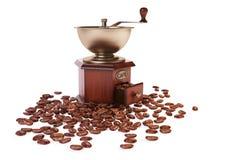 grinderen för kaffe 3d framför Arkivfoto