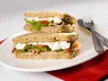 grindersmörgås Arkivfoto