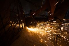 Grinding iron Stock Photos