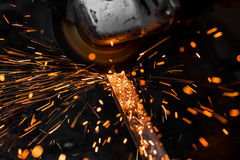 Grinding machine Royalty Free Stock Images