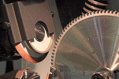 Grinding machine Stock Image