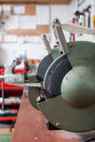 Grinding machines. In the workshop Royalty Free Stock Images