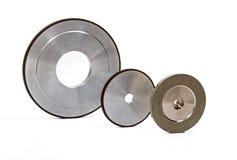 Grinding and polishing wheels Stock Photos