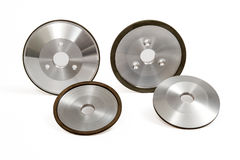 Grinding and Polishing Wheels Stock Images