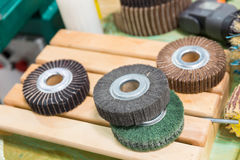 Grinding rollers Royalty Free Stock Image