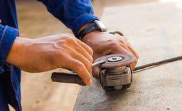 Grinding screwdriver Royalty Free Stock Photos