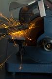 Grinding steel Stock Image