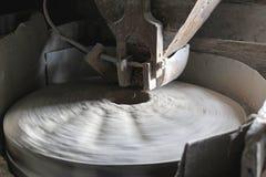 Grinding stone Stock Photo