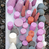 Grinding stones Stock Photos