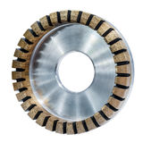 Grinding wheel for glass processing. Stock Images