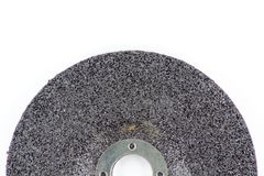 Grinding wheel for steel Royalty Free Stock Photo