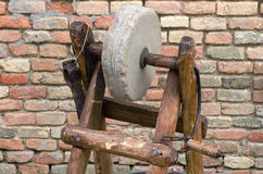 Grindstone Royalty Free Stock Photo