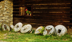 Grindstones Royalty Free Stock Images