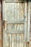 Grunge pastel red tint wood planks of the door texture background Royalty Free Stock Photos