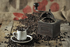 gringer coffe старое Стоковые Фото