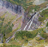 Grinnell Falls, Glacier National Park Royalty Free Stock Photos