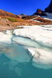 Grinnell Glacier Melting Stock Photos