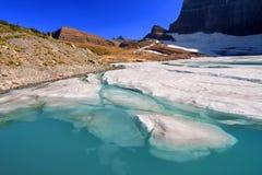 Grinnell Glacier Pond - Montana Stock Image
