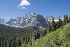 Grinnell Glacier Trail - Glacier National Park Stock Images