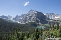 Grinnell Glacier Trail - Glacier National Park Stock Photo