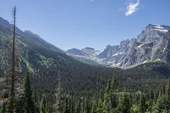 Grinnell Glacier Trail - Glacier National Park Royalty Free Stock Photos