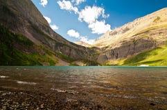 Grinnell Jezioro, Lodowa Park Narodowy Obrazy Stock