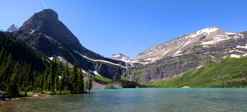 Grinnell lake Stock Image