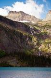 Grinnell Lake, glaciärnationalpark Arkivfoto