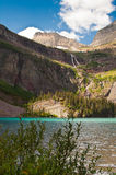 Grinnell Lake, glaciärnationalpark Royaltyfria Foton