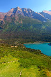 Grinnell Lake Glacier National Park Royalty Free Stock Photos