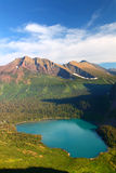 Grinnell Lake Glacier National Park Royalty Free Stock Photo