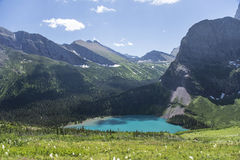 Grinnell Lake - Glacier National Park Royalty Free Stock Photos