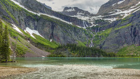 Grinnell Lake Royalty Free Stock Image